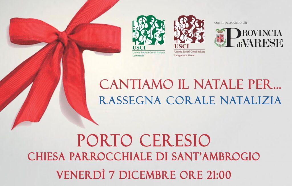 Rassegna corale natalizia USCI Varese