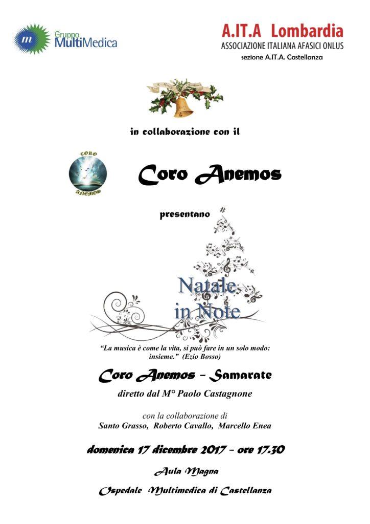 Concerto natalizio per associazione AITA Castellanza