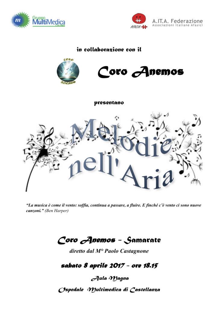 Concerto melodie nell'aria per associazione AITA Castellanza